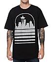 Casual Industrees Seattle Skyline Speckle Ice camiseta negra
