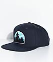 Casual Industrees Skyline Navy Snapback Hat