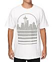 Casual Industrees WA Seattle Skyline Speckle T-Shirt
