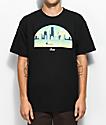 Casual Industrees WA Skyline Arch 3D Black T-Shirt