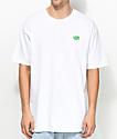 Casual Industrees Washington Brah camiseta blanca bordada