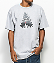 Casual Industrees x Rainier Johnny Tree Grey T-Shirt