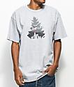 Casual Industrees x Rainier Johnny Tree Grey T-Shirt
