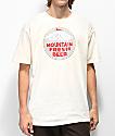 Casual Industrees x Rainier Mountain Fresh camiseta blanquecina
