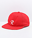 Casual Industrees x Rainier R Red Snapback Hat
