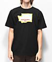 Casual Industrees x Rainier Washington Fresh camiseta negra