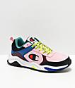 Champion 93 Eighteen Big C Pink & Multi-Colorblock Shoes