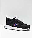 Champion 93 Eighteen Classic zapatos negros y blancos
