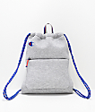 Champion Attribute Light Grey Gym Cinch Bag