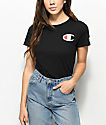 Champion Big C Black T-Shirt