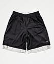Champion Black & Silver Mesh Basketball Shorts