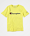 Champion Boy's Heritage Lime T-Shirt