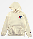 Champion Boys Quartz Cream Hoodie