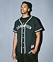 Champion Braided Black Baseball Jersey