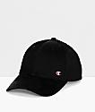Champion Classic C Patch Twill Black Strapback Hat