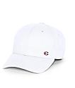 Champion Classic C Patch White Strapback Hat