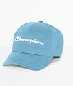 Champion Classic Twill Active Blue Strapback Hat