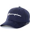 Champion Classic Twill Navy Strapback Hat