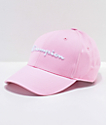 Champion Classic Twill Pink Candy Strapback Hat