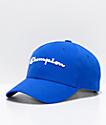 Champion Classic Twill Surf Blue Strapback Hat