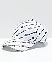 Champion Classic Twill White Logo Script Strapback Hat