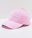 Champion Classic gorra de sarga rosa