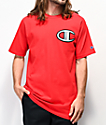 Champion Floss Stitch C Red T-Shirt
