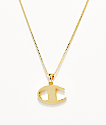 Champion Gold Pendant Women's Necklace
