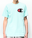 Champion Heritage Big C Mint Green T-Shirt