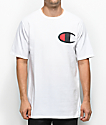 Champion Heritage Big C Patch camiseta blanca