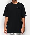 Champion Heritage Black Pocket T-Shirt