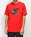 Champion Heritage Camo C camiseta roja