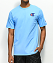 Champion Heritage Patriotic C Swiss Blue T-Shirt