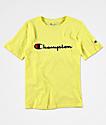 Champion Heritage camiseta verde para niños