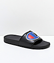 Champion IPO Black Slide Sandals