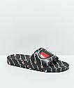 Champion IPO Repeat Black Slide Sandals