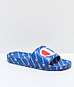 Champion IPO Repeat Royal Slide Sandals