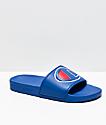 Champion IPO Royal Blue Slide Sandals