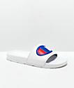 Champion Men's IPO White Slide Sandals