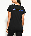 Champion Patriotic Black T-Shirt
