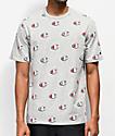 Champion Printed Heritage C Grey T-Shirt