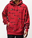 Champion Reverse Weave All Over Print Cherry Hoodie