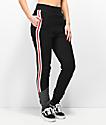 Champion Reverse Weave Black & Grey Colorblocked Jogger Sweatpants