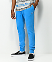 Champion Reverse Weave Blue Jogger Pants