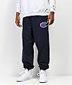 Champion Reverse Weave Sublimated C Logo Navy Jogger Pants
