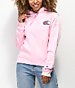 Champion Reverse Weave Sublimated Pink Hoodie