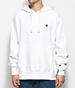 Champion Reverse Weave White Pullover Hoodie