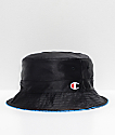 Champion Reversible Black & Black Bucket Hat