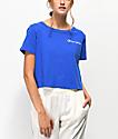 Champion Script camiseta corta azul