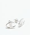 Champion Silver Stud Earrings
